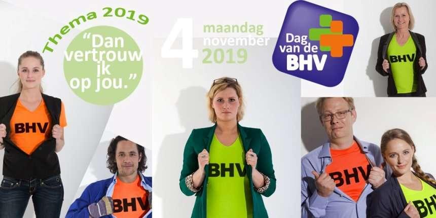 Maandag 4 november: de 8e landelijke Dag van de BHV