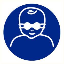 Opaak veiligheidsbril kind verplicht