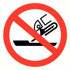 Plat slijpen verboden