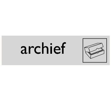 Infoplaatje Archief
