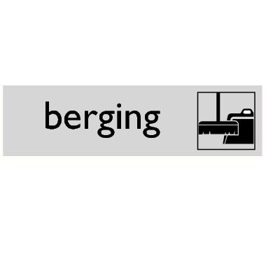 Infoplaatje Berging