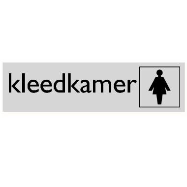 Infoplaatje Dameskleedkamer