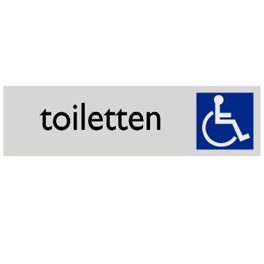 Infoplaatje Invalidentoilet
