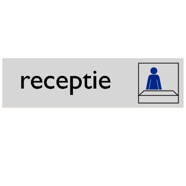Infoplaatje Receptie