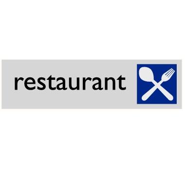 Infoplaatje Restaurant