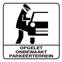 Onbewaakt Parkeerterrein