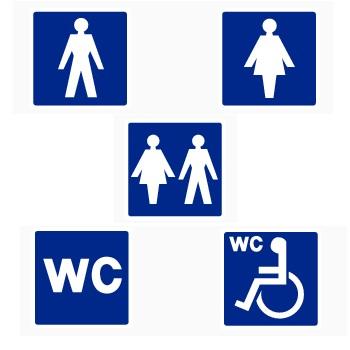 Toilet assorti