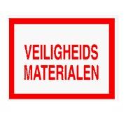 Veiligheidsmaterialen