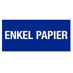 Enkel papier