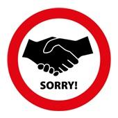 Afbeeldingsresultaat voor handen schudden verboden