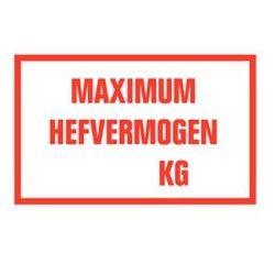 Maximum hefvermogen