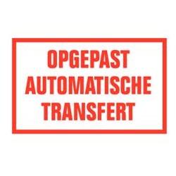 Opgepast automatische transfert