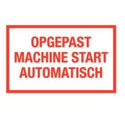 Opgepast machine start automatisch