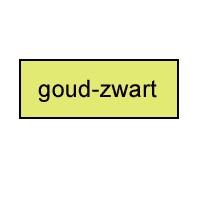 Tekstborden / Eigen teksten / Graveerbord goud - zwart